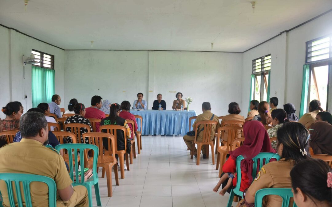 Verification of the PTTEP Stunting Prevention Partnership Program in East Nusa Tenggara Province