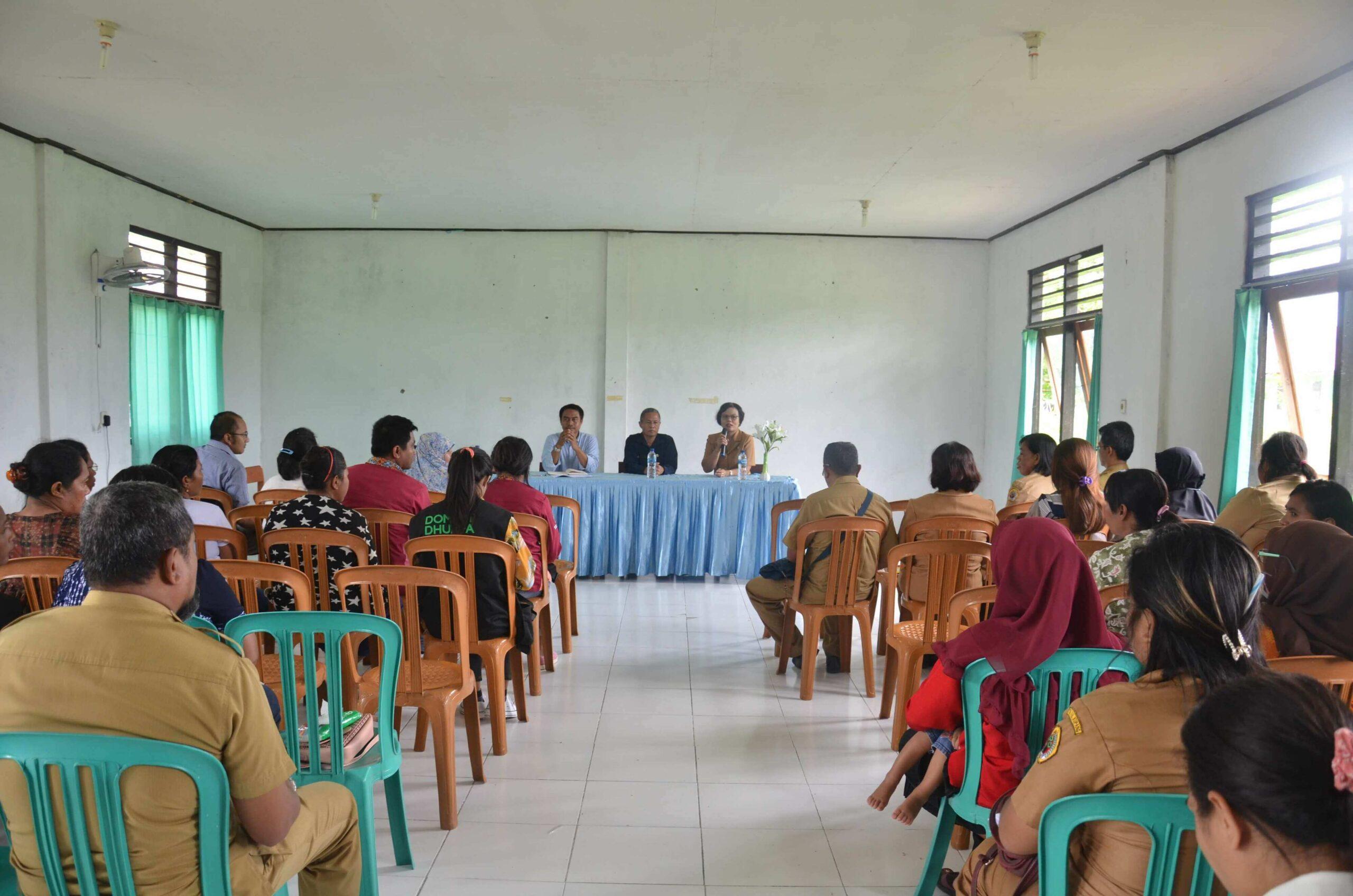 Verifikasi Kelurahan Naibonat Kab Kupang