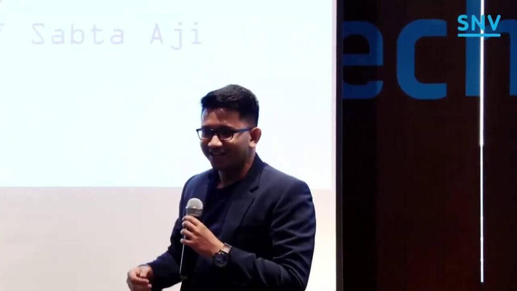 Millennials Voice for Stunting Dr. Arif Sabta Aji