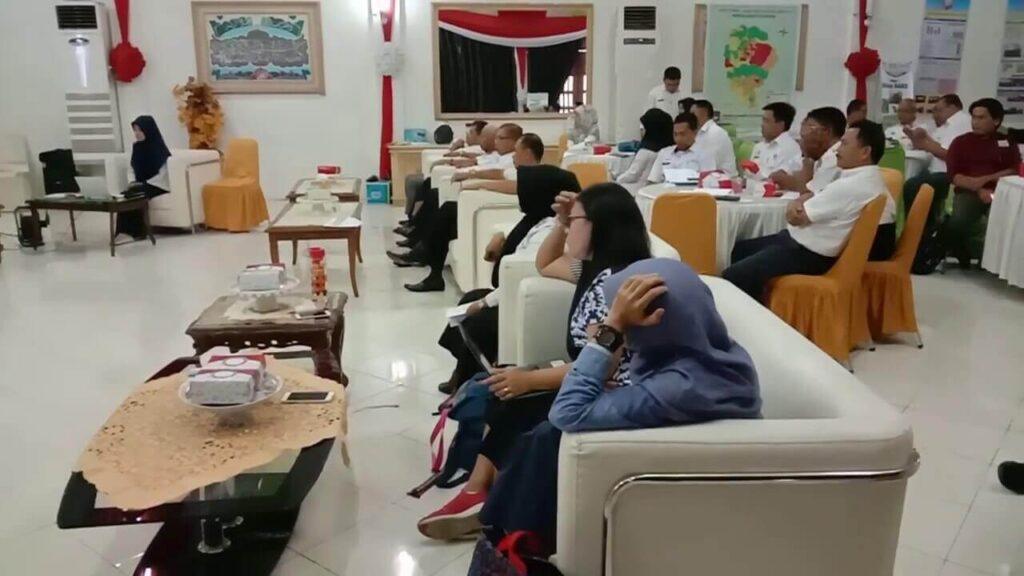 Suasana Rapat Koordinasi TP2AK di Enrekang Bahas Pencegahan Stunting