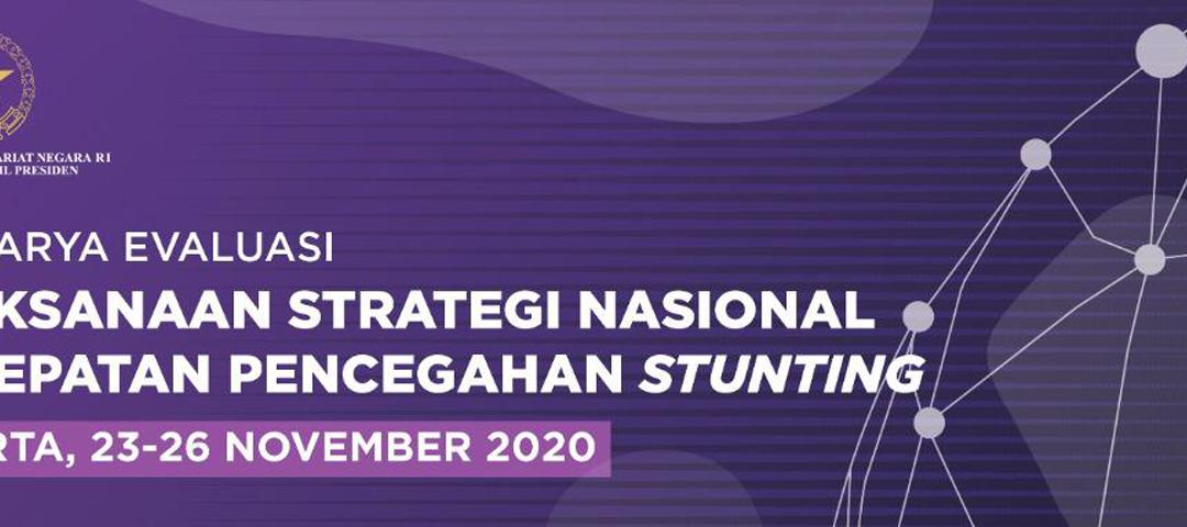 Setwapres Gelar Evaluasi Pelaksanaan Strategi Nasional Percepatan Pencegahan Stunting