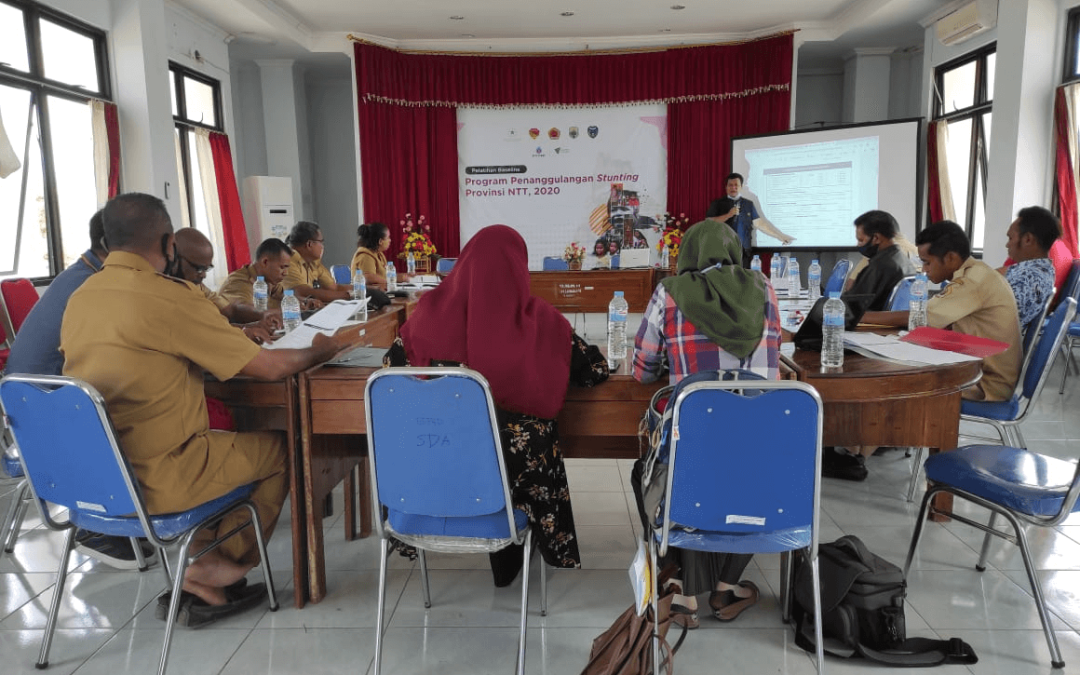 Pelatihan Baseline Survei Program Kemitraan Kepada OPD di 3 Kabupaten di Provinsi NTT