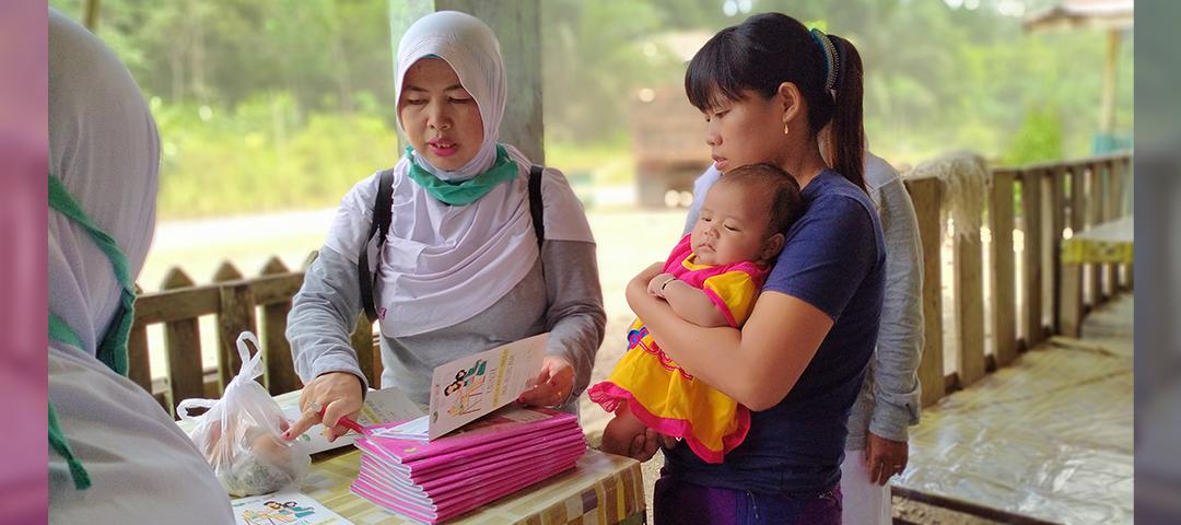 Aksi Replikasi Program Cegah Stunting di Sentabai