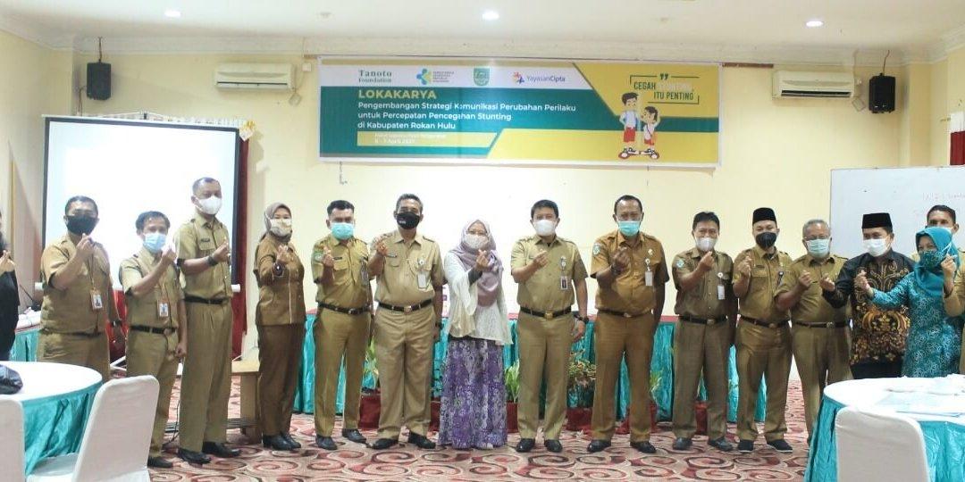 Pendampingan Tujuh Kabupaten dalam Strategi Komunikasi Perubahan Perilaku untuk Penurunan Stunting